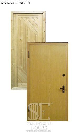 железные двери от 15000