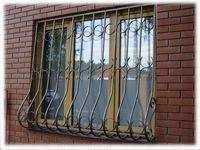 """Решетка окна """"дутая"""" порошковое напыление"""