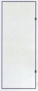 Металлическая дверь стандартная коробка