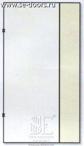Металлическая дверь вставка с боку