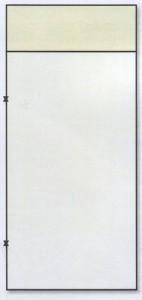 Металлическая дверь вставка сверху