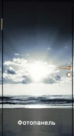 Дверь с фото панелью, стоимость: 29100 руб.