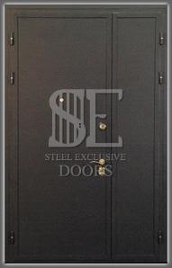 Входные металлические уличные двери