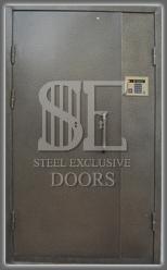 Входные металлические двери в подъезд